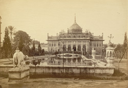 The principal building of the Hosenabad Imam-bara [Lucknow].